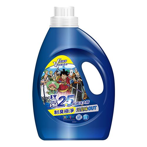 【毛寶】航海王款 PM2.5制臭極淨抗菌洗衣精2200g