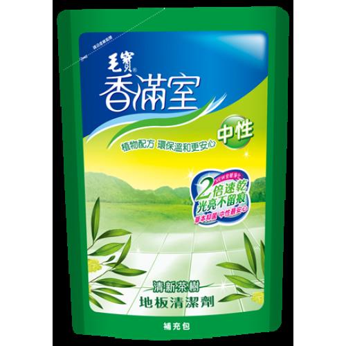 【香滿室】中性地板清潔劑(清新茶樹)1800g-補充包