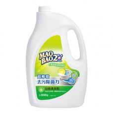 【毛寶兔】超檸檬浴廁去污除菌清潔劑2000g-重裝瓶