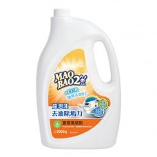 【毛寶兔】超泡沫廚房去油除垢清潔劑2000g-重裝瓶